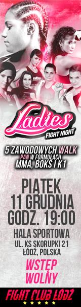 Ladies Fight Night 1 - Pierwsza kobieca gala Sportów Walki w Polsce