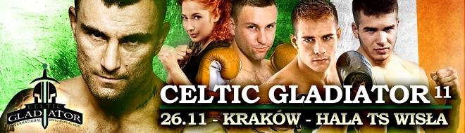 Gala Celtic Gladiator 11 Kraków