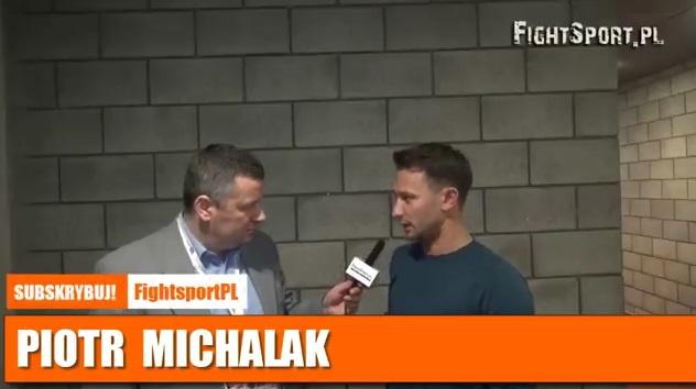 Piotr Michalak: Chudej chciał tam trochę przyświrować