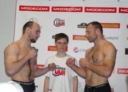 Arena MMA 1: ważenie zawodników_1