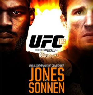 UFC 159: Jones vs Sonnen: New Jersey, 27/04/13