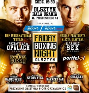 Friday Boxing Night: Olsztyn, 10/05/13