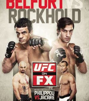 UFC on FX: Belfort vs Rockhold: Brazylia, 18/05/13