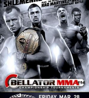 Bellator 114: West Valley City, 28/03/2014