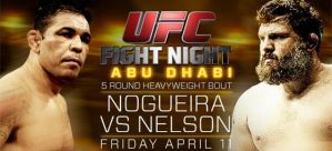 UFC Fight Night 39: Nogueira vs Nelson: Wyspa Yas, Abu Dhabi, 11/04/2014