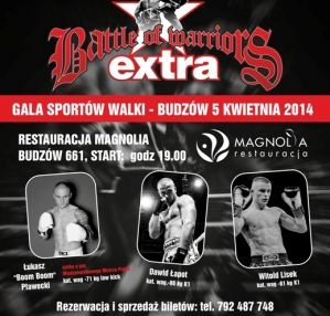 Battle of Warriors Extra: Budzów, 05/04/2014