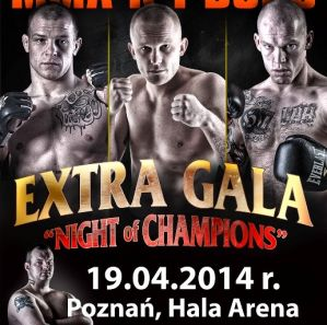 Night of Champions 6: Poznań, 19/04/2014