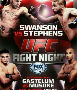 UFC Fight Night 44: Swanson vs. Stephens: San Antonio, 28/06/2014