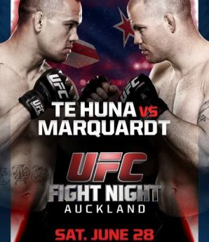 UFC Fight Night 43: Te-Huna vs. Marquardt: Auckland, 28/06/2014