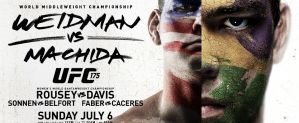 UFC 175: Weidman vs. Machida: Las Vegas, 05/07/2014