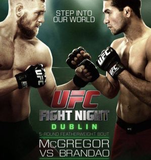 UFC Fight Night 46: McGregor vs. Brandao: Dublin, 19/07/2014