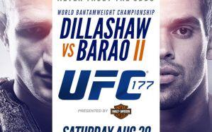 UFC 177: Dillashaw vs. Barao 2: Las Vegas, 30/08/2014