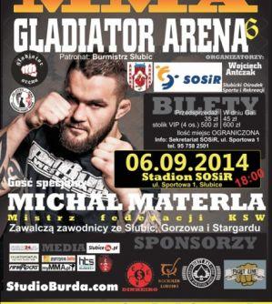 Gladiator Arena 6: Słubice, 06/09/2014