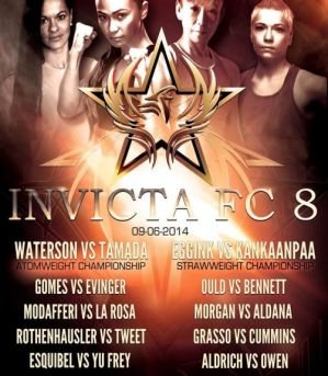 Invicta 8: Waterson vs. Tamada: Kansas City, 06/09/2014