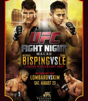 UFC Fight Night 48: Bisping vs Le: Makao, 23/08/2014