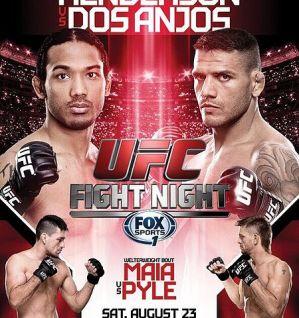 UFC Fight Night 49: Henderson vs Dos Anjos: Tulsa, 23/08/2014