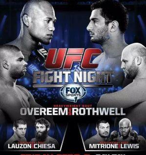 UFC Fight Night 50: Souza vs Mousasi: Ledyard, 05/09/2014