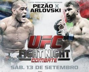 UFC Fight Night 51: Silva vs Arlovski 2: Brasilia, 13/09/2014
