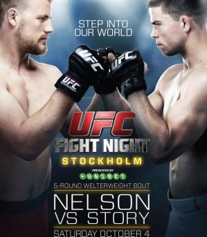 UFC Fight Night 53: Nelson vs Story: Sztokholm, 04/10/2014