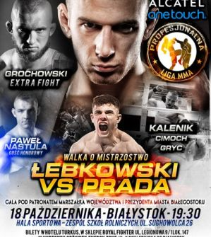 PLMMA 40 Extra/V Międzynarodowa Gala MMA Cup: Białystok, 18/10/2014