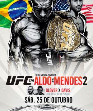 UFC 179: Aldo vs Mendes 2: Rio de Janeiro, 25/10/2014