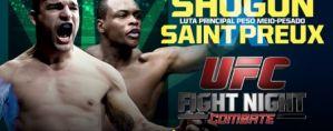 UFC Fight Night 56: Shogun vs. St. Preux: Uberlandia, 08/11/2014
