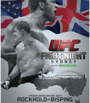 UFC Fight Night 55: Rockhold vs. Bisping: Sydney, 07/11/2014