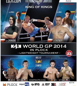 KOK World GP 2014 in Plock: Płock, 28/11/2014