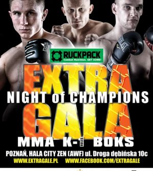"Extra Gala ""Night of Champions"" 8: Poznań, 22/11/2014"