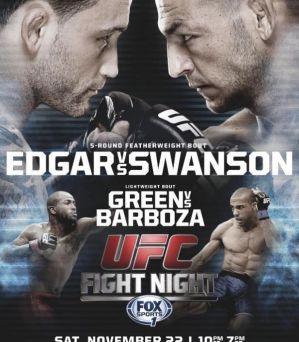 UFC Fight Night 57: Edgar vs. Swanson: Austin, 22/11/2014