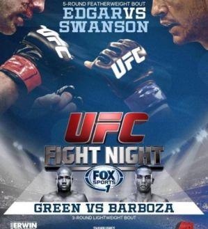 UFC Fight Night 57 Edgar vs. Swanson: wyniki ważenia! Wideo!