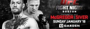 UFC Fight Night 59: McGregor vs. Siver: Boston, 18/01/2015