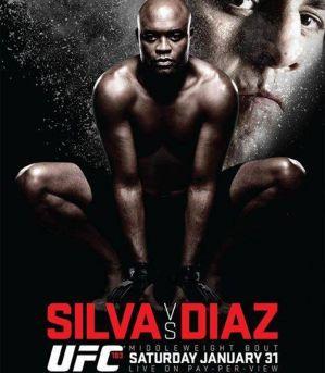 UFC 183: Silva vs Diaz: Las Vegas, 31/01/2015