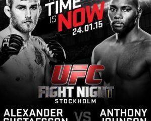UFC on FOX 14: Gustafsson vs. Johnson: Sztokholm, 24/01/201