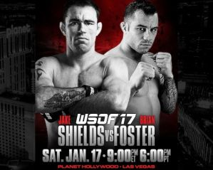 WSOF 17: Shields vs. Foster: Las Vegas, 17/01/2015