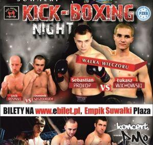 Suwałki Kickboxing Night: Suwałki, 30/01/2015
