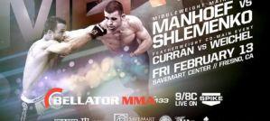 Bellator 133: Manhoef vs Shlemenko: Frenso, 13/02/2015