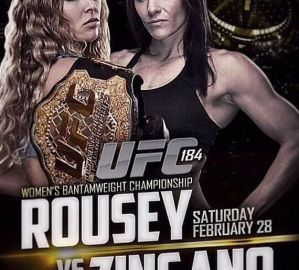 UFC 184: Rousey vs Zingano: Los Angeles, 28/02/2015