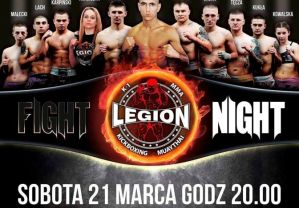 Legion Fight Night: Głogów, 21/03/2015