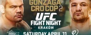 UFC Fight Night 64: Gonzaga vs Cro Cop 2: Krakow, 11/04/2015