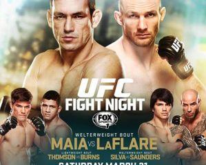 UFC Fight Night 62: Maia vs LaFlare: Rio de Janeiro, 21/03/2015