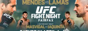 UFC Fight Night 63: Mendes vs. Lamas: Fairfax, 04/04/2015