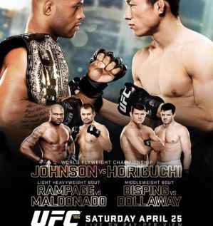 UFC 186: Johnson vs. Horiguchi: Montreal, 25/04/2015
