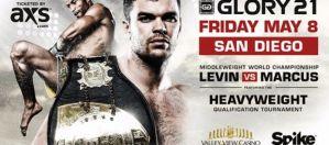 Glory 21: Levin vs Marcus: San Diego, 08/05/2015