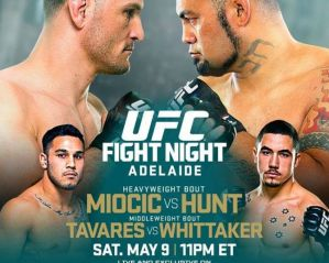 UFC Fight Night 65 Miocic vs. Hunt: Adelajda, 9/05/2015