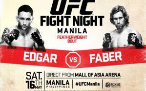 UFC Fight Night 66 Edgar vs. Faber: Pasay, 16/05/2015