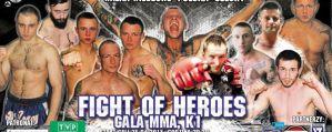 Fight of Heroes 1: Sosnowiec, 09/05/2015