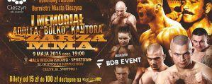 Szarża MMA 1: Cieszyn, 09/05/2015