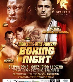 Mercedes-Benz Frączak Boxing Night: Leszno, 03/07/2015