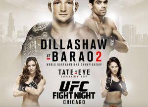 UFC on FOX 16: Dillashaw vs. Barao 2, Chicago, 25/07/2015